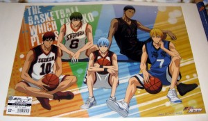 Kurobasu clear poster - big five 1