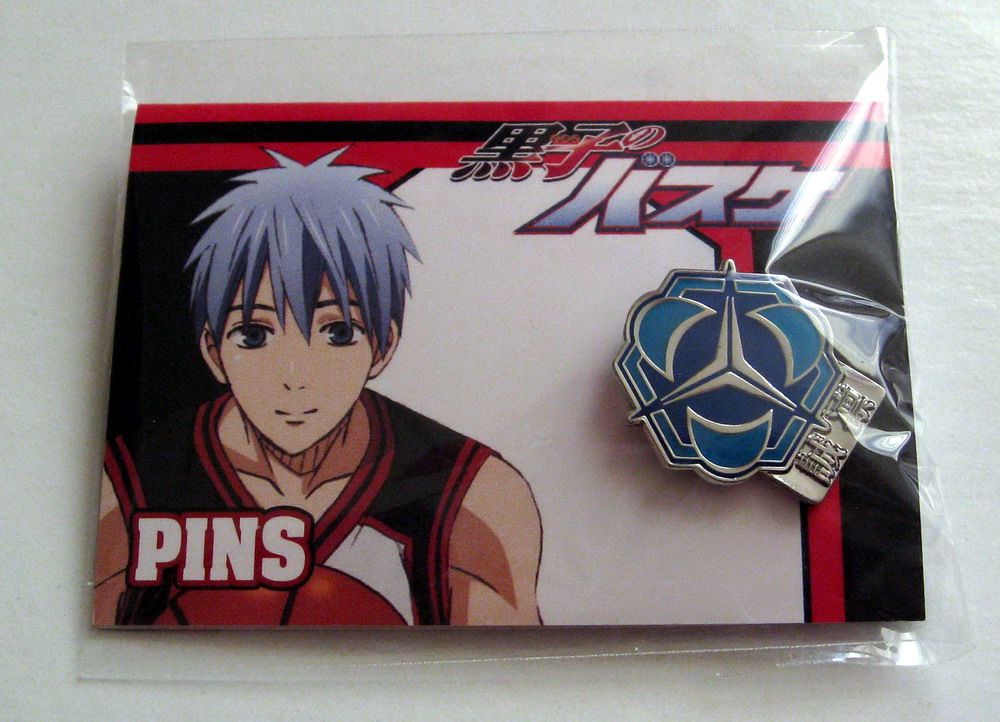 Kurobasu school logo pin_1