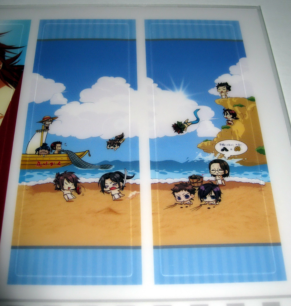 Hakuouki - bookmarks at the beach 2