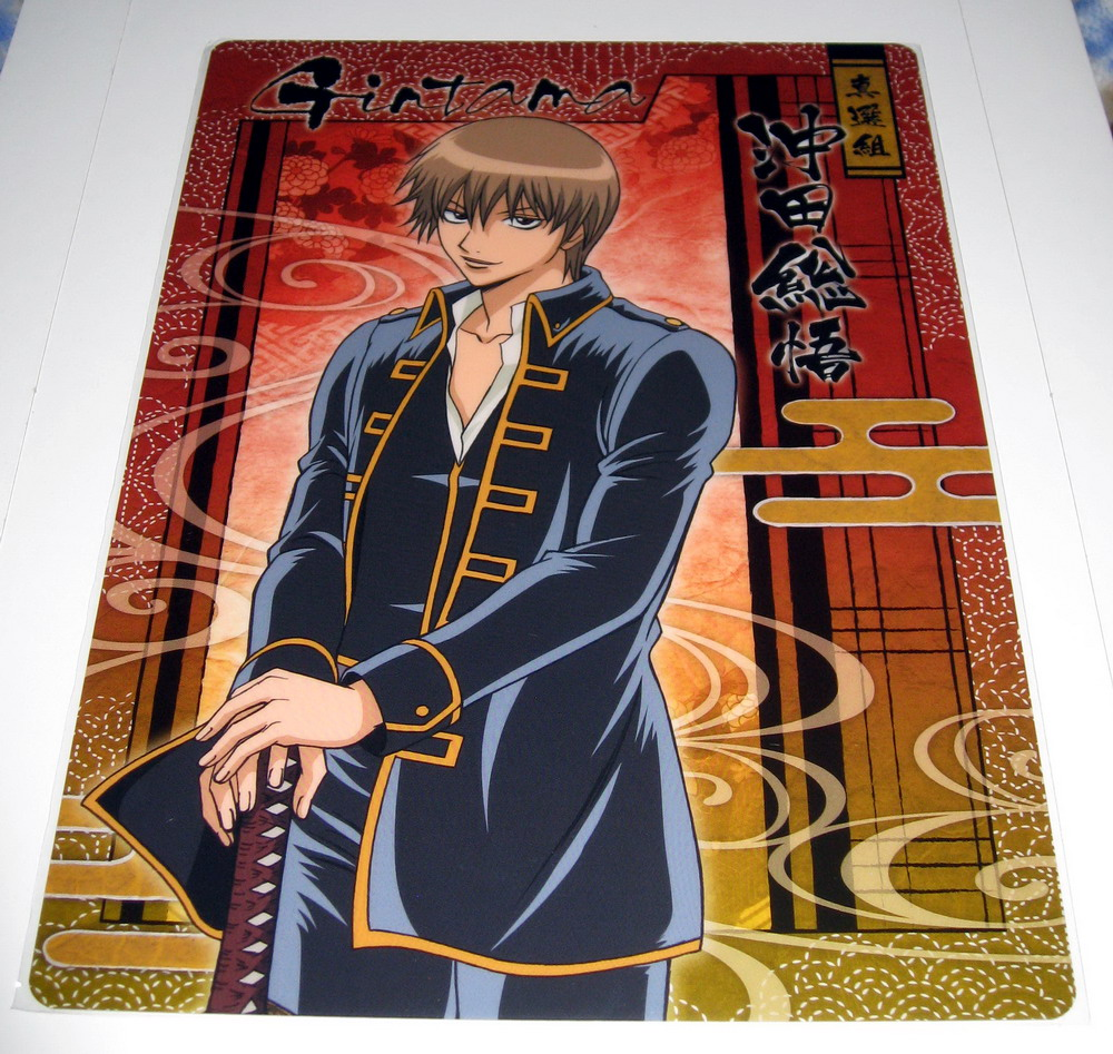Gintama pencil board - Okita