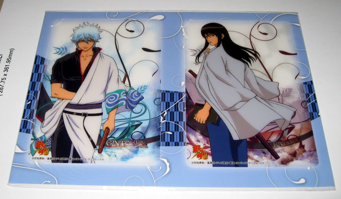 Gintama_mini pencil boards set