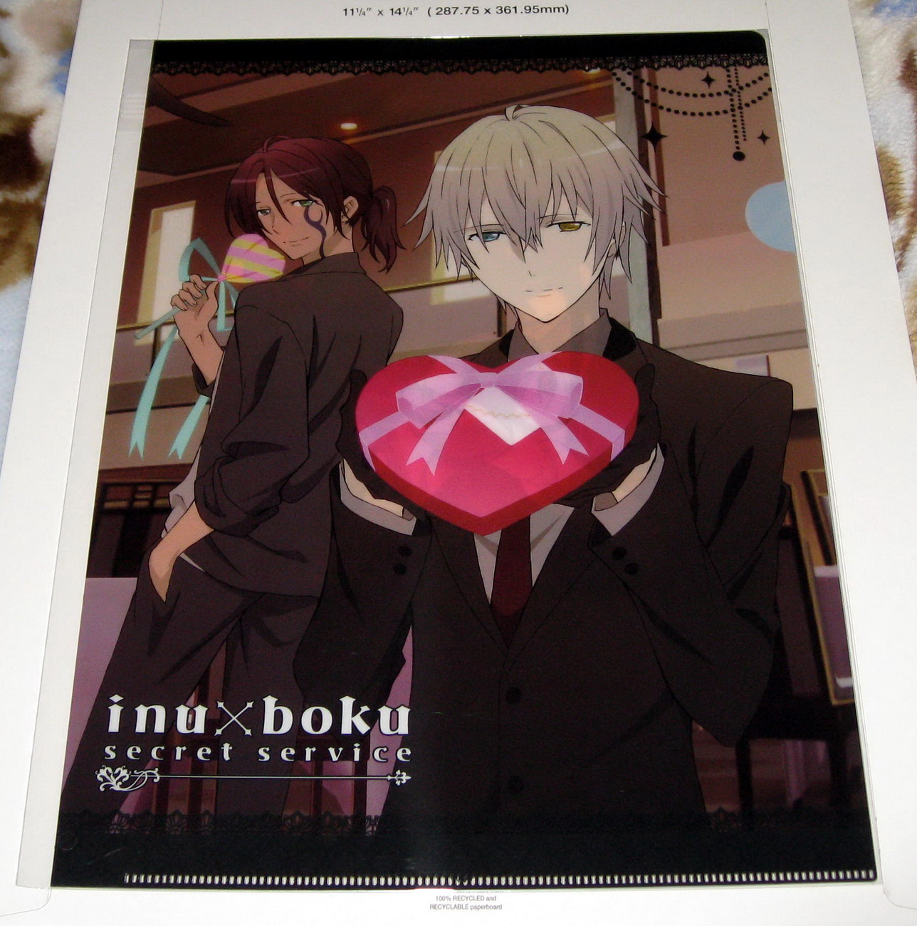 Clear file - Inu x Boku SS_valentine's_front