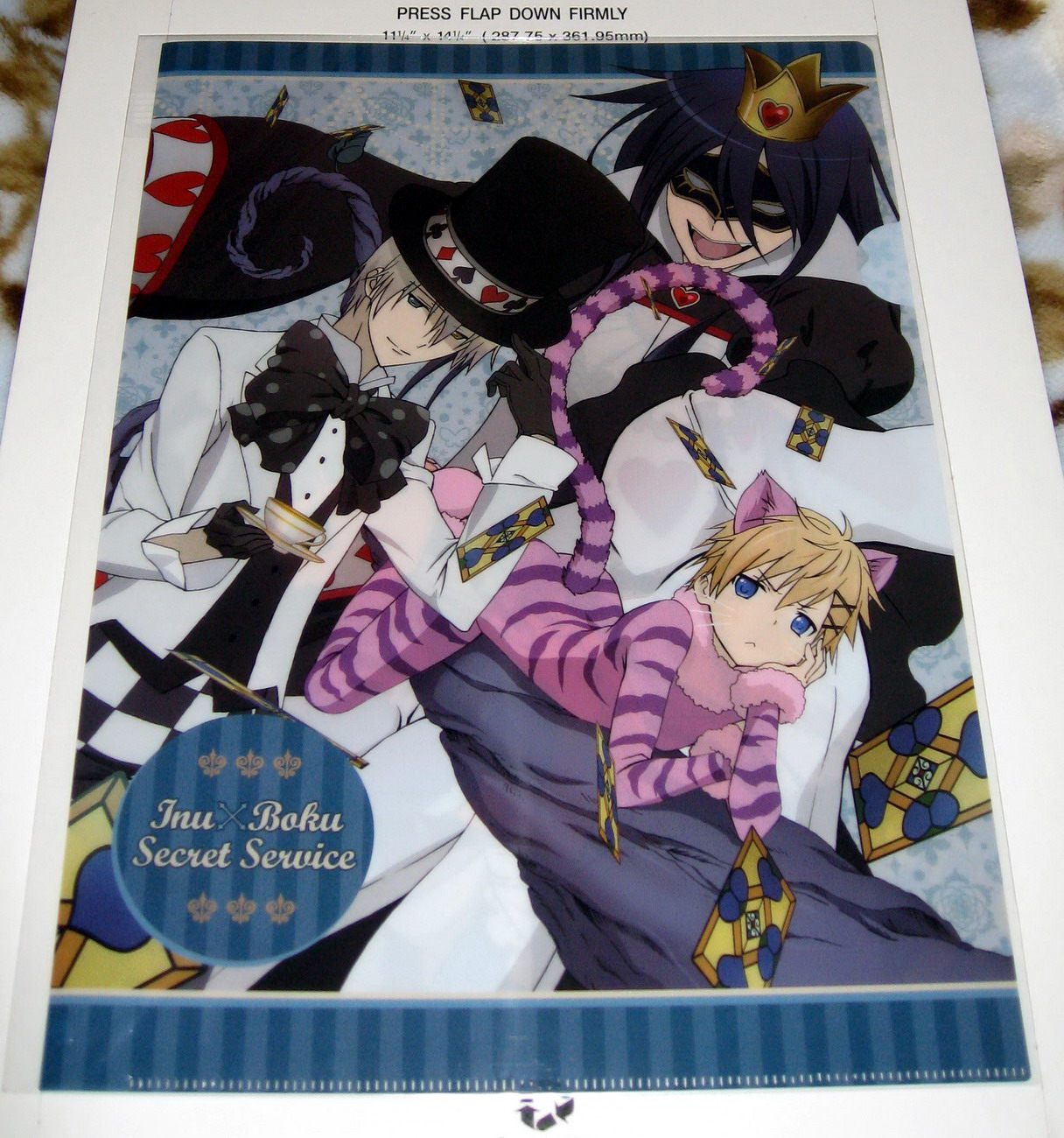 Clear file - Inu x Boku SS_Alice in Wonderland_1