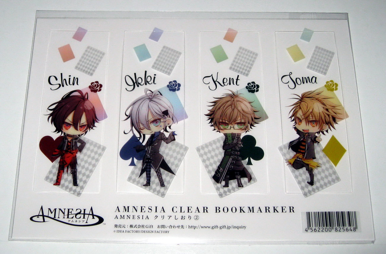 Amnesia clear bookmarks 2