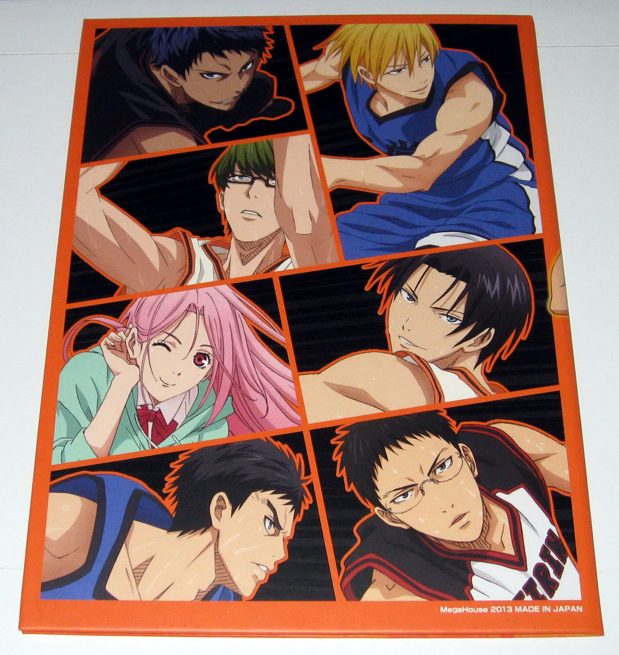Kurobasu players photobook - back cover