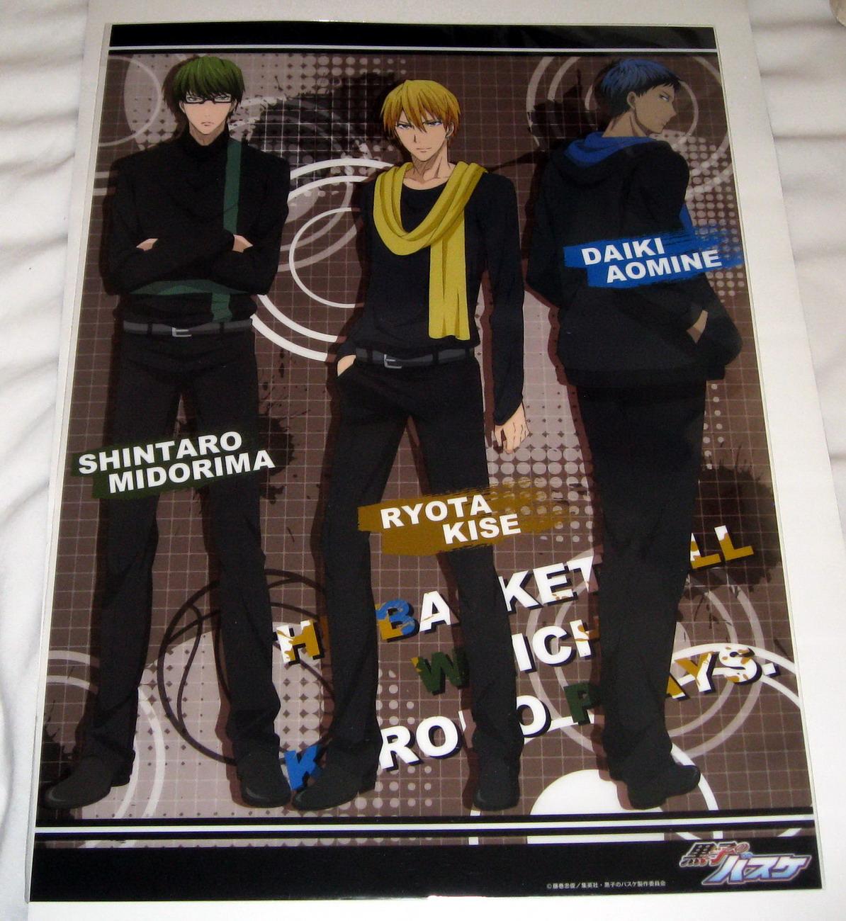 Kurobasu clear poster - 0613 KiseMidorimaAomine