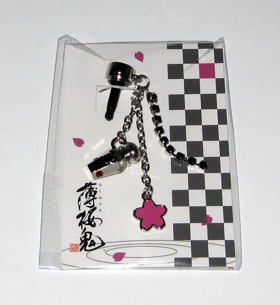 Sakura potion bottle earphone