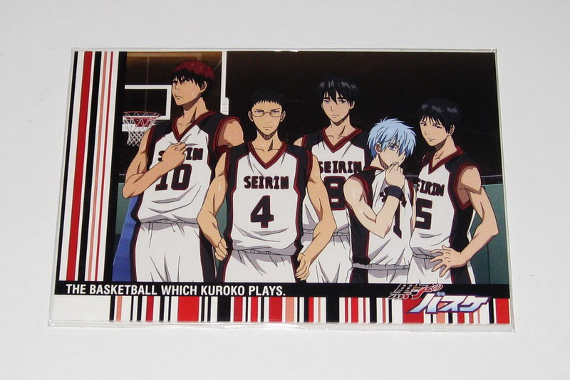 Kurobasu postcard sets - 01