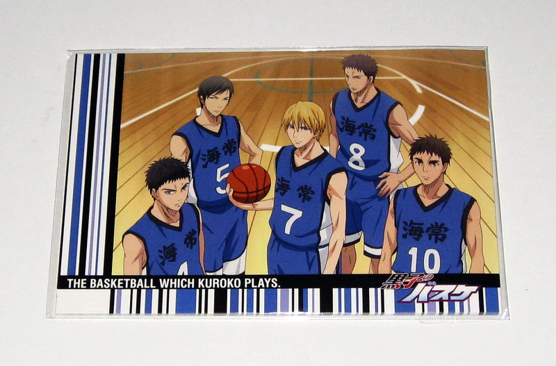Kurobasu postcard sets - 03
