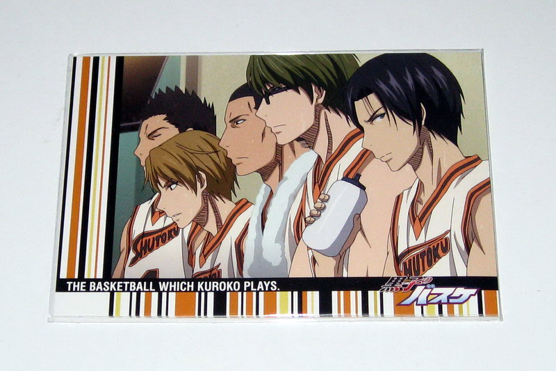 Kurobasu postcard sets - 05