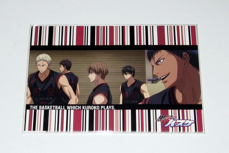 Kurobasu postcard sets - 07