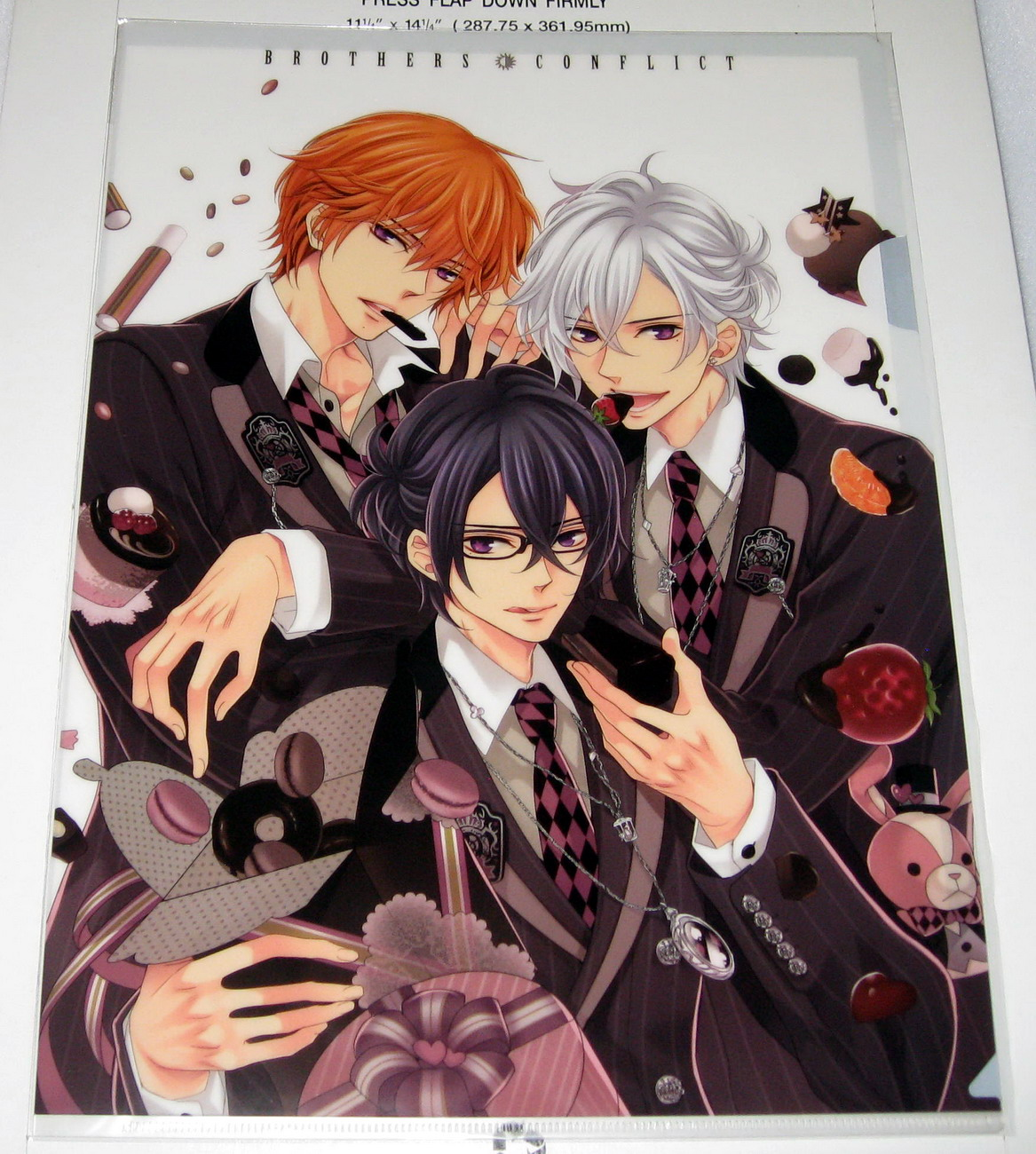 Clear file - 0312 Brothers Conflict - Triplet