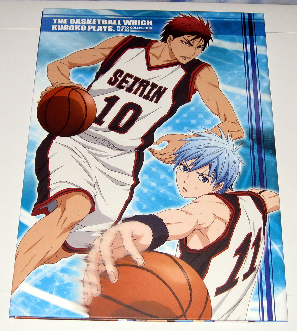 Kurobasu photobook v.1 - back cover