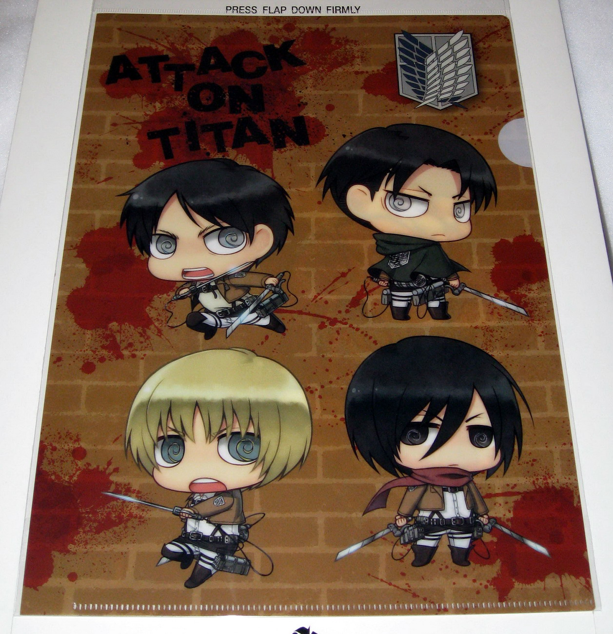 Clear file - 0813 Attack on Titans