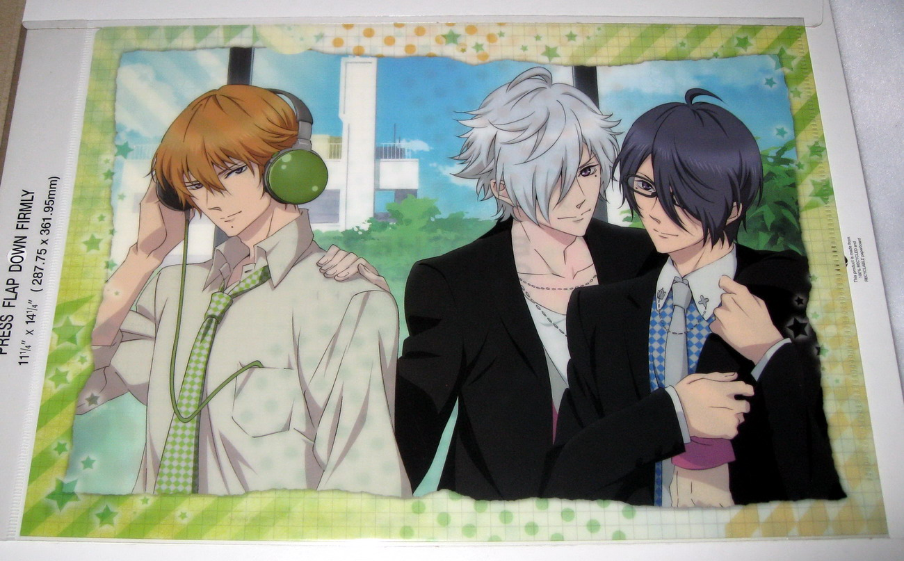 Clear file - 0813 Brothers Conflict - Triplet