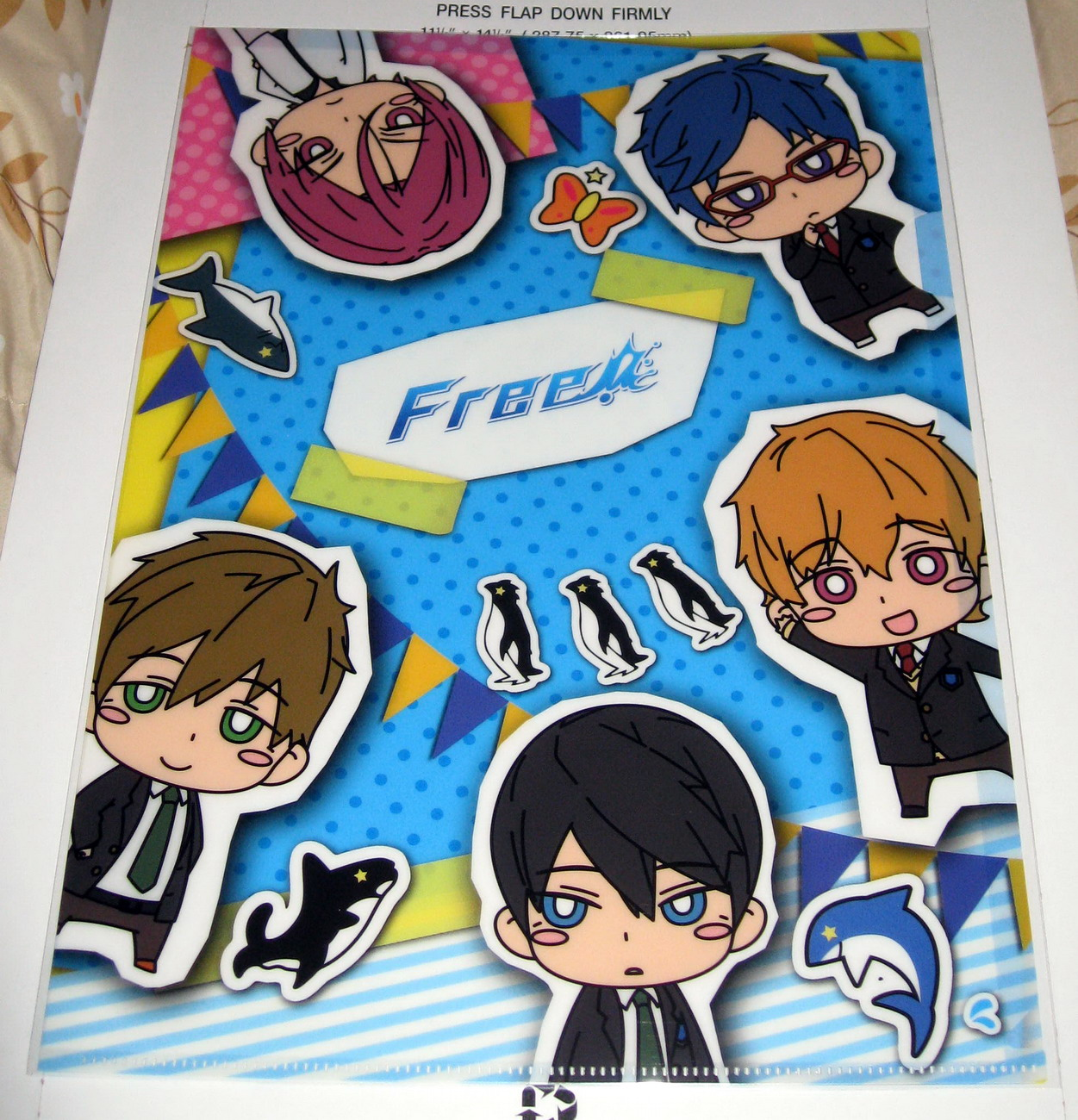 Clear file - 0913 Free! Chibi B_1