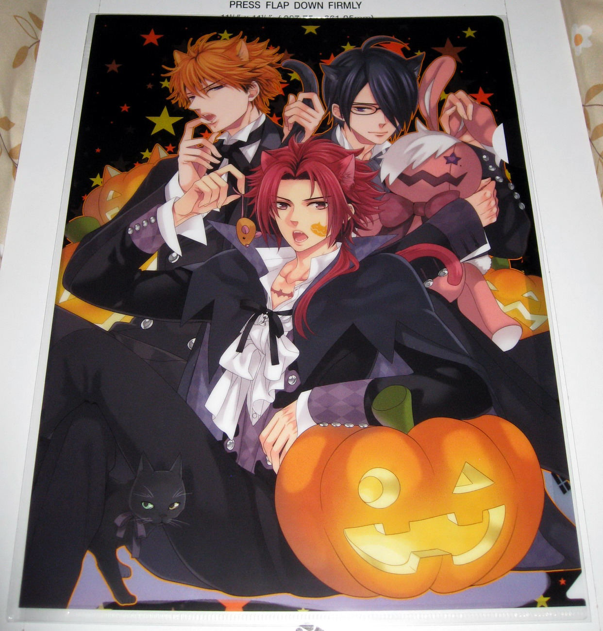 Clear file - 1013B Triplet Halloween