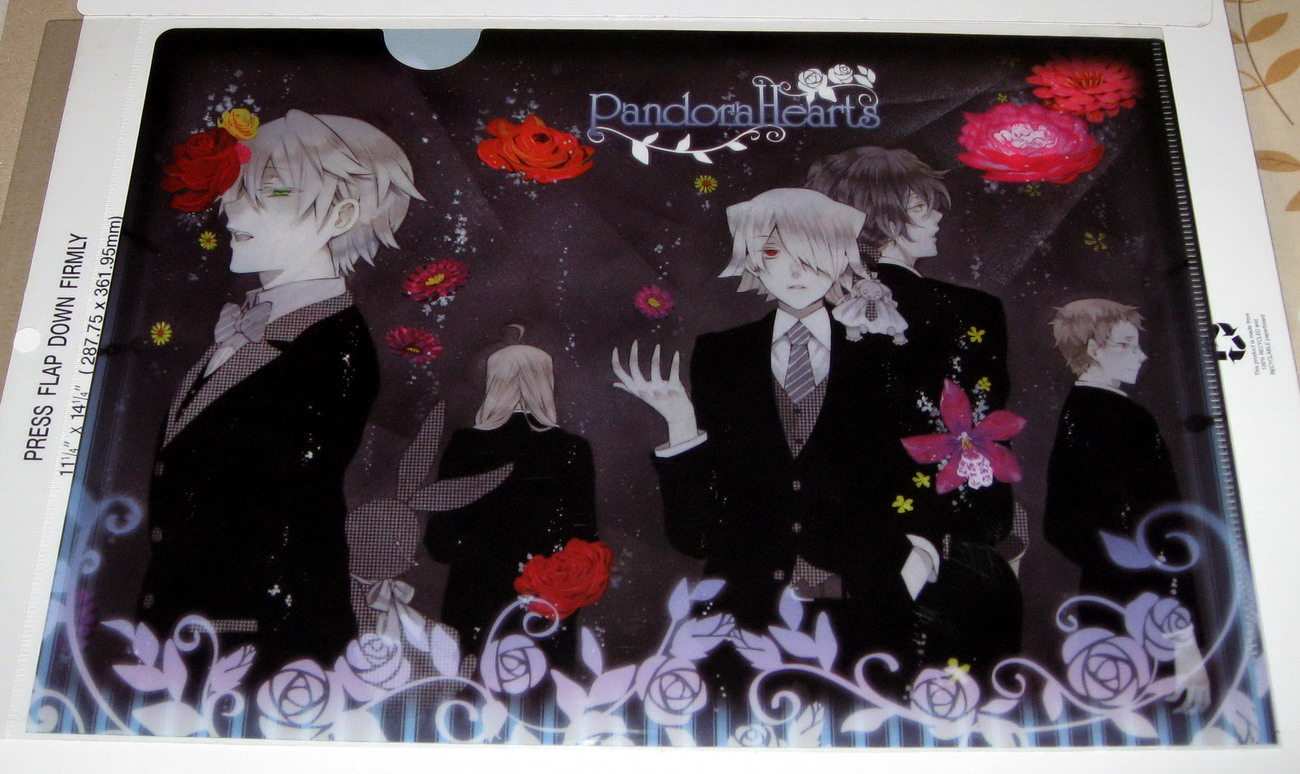 Clear file - 0913 Pandora Hearts front