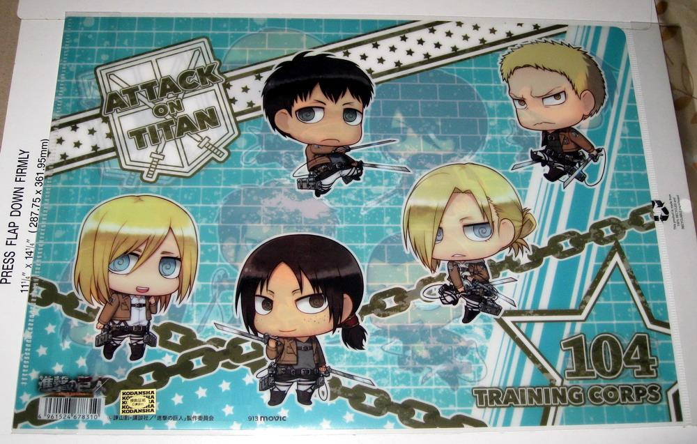 Clear file - 1013 Shingeki no Kyojin - back