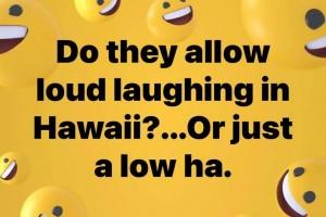 Laugh in Hawaii
