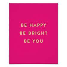 pink happy