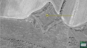 Ивановская крепость - arcGIS