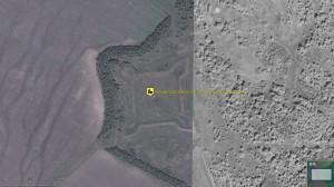 Михайловская крепость - arcGIS