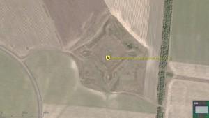 Тамбовская крепость -arcGIS