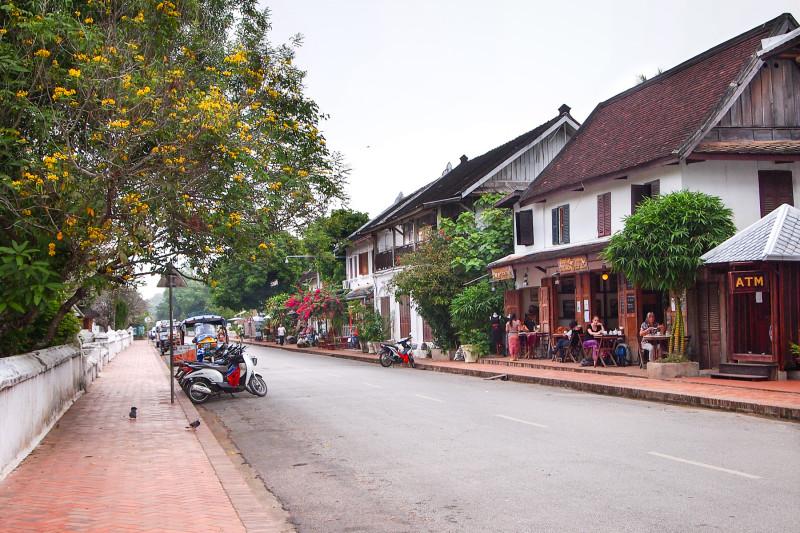 Уютные улочки Луанг Прабанга