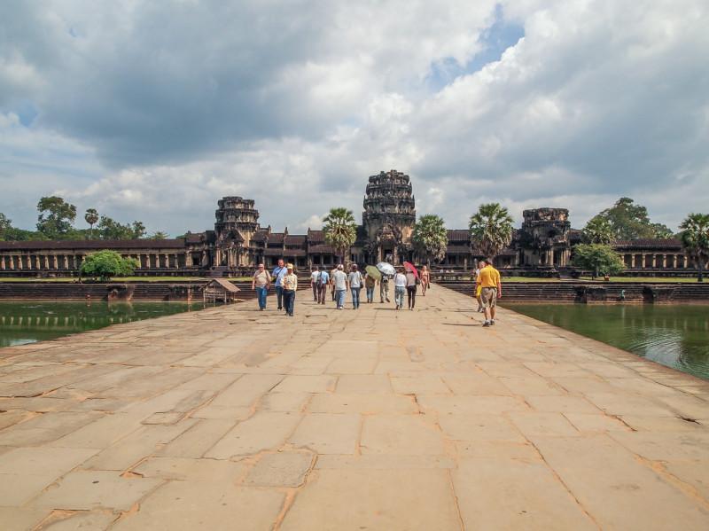 Насколько сильно на самом деле развалился Ангкор