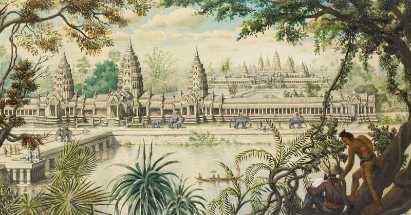 Ангкор, реконструкция