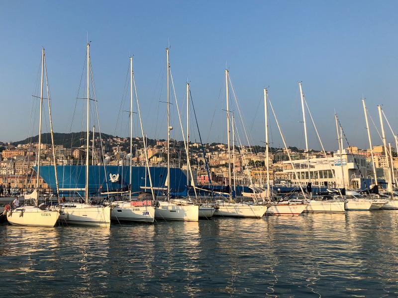 Яхты в Генуе