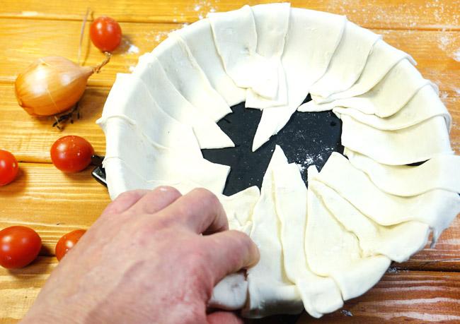 Креатопита, греческий пирог с мясом
