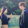 park shin hye & lee min ho
