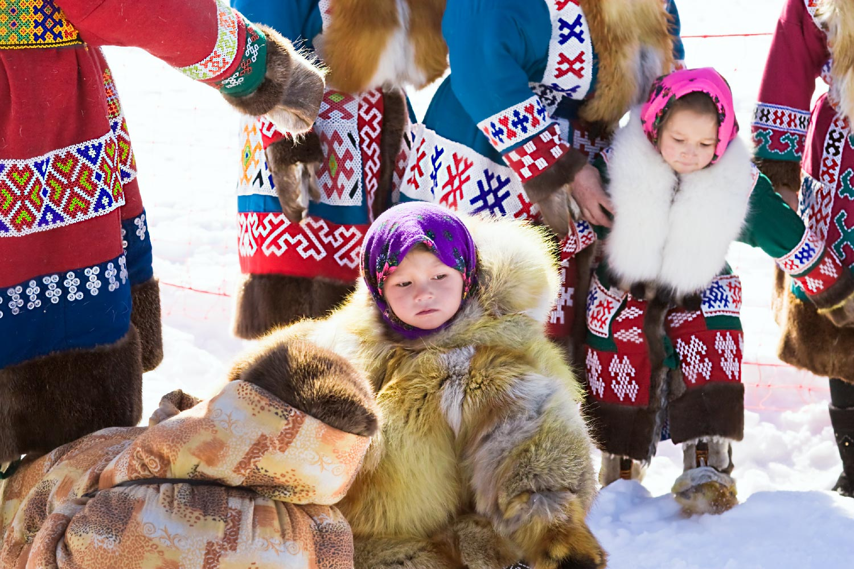 Семья хантов картинка