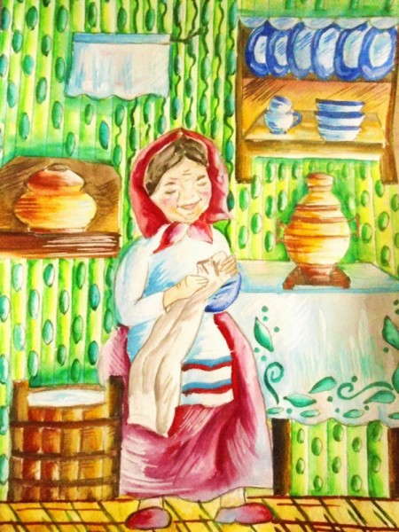 Картинки на тему работы у бабушки