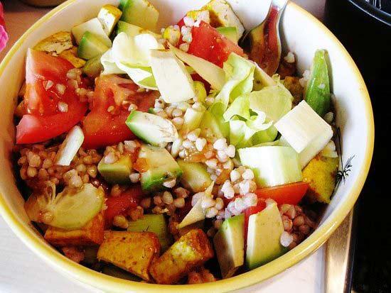 Buckwheat salad recipes
