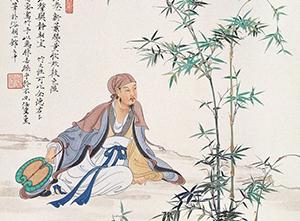 Китайский художник Жень Чжун