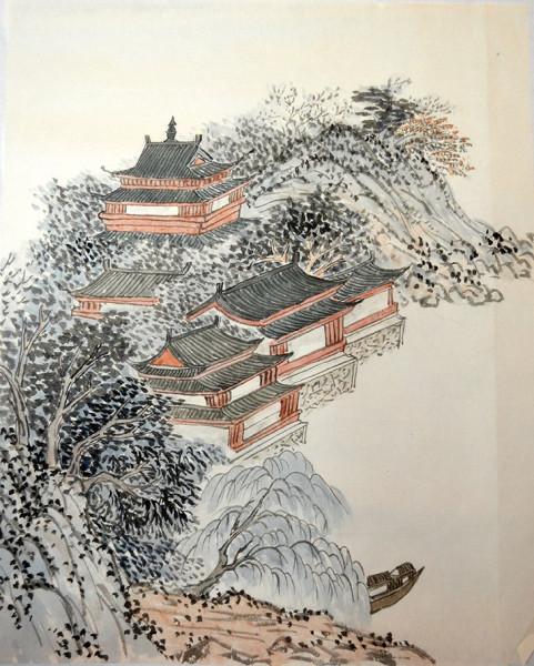 Курс традиционного китайского пейзажа Оксаны Гуевой