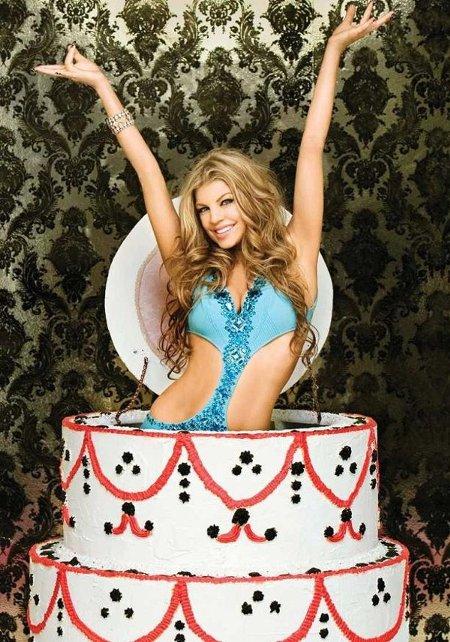 картинки - девушка и торт