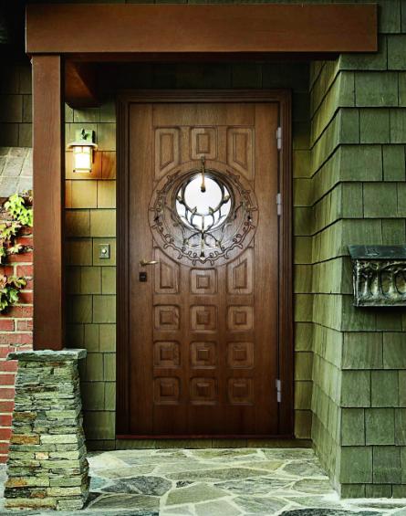 входная дверь в загородный дом дешево