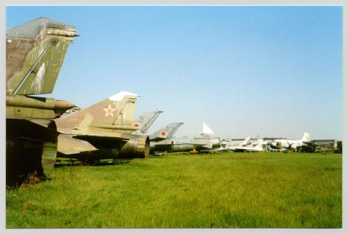 Старые самолёты