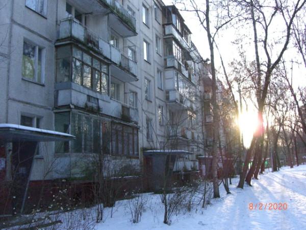 Панельная пятиэтажка в Давыдково