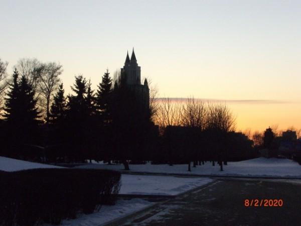 Ещё один ракурс. Вида на Давыдково из Парка Победы