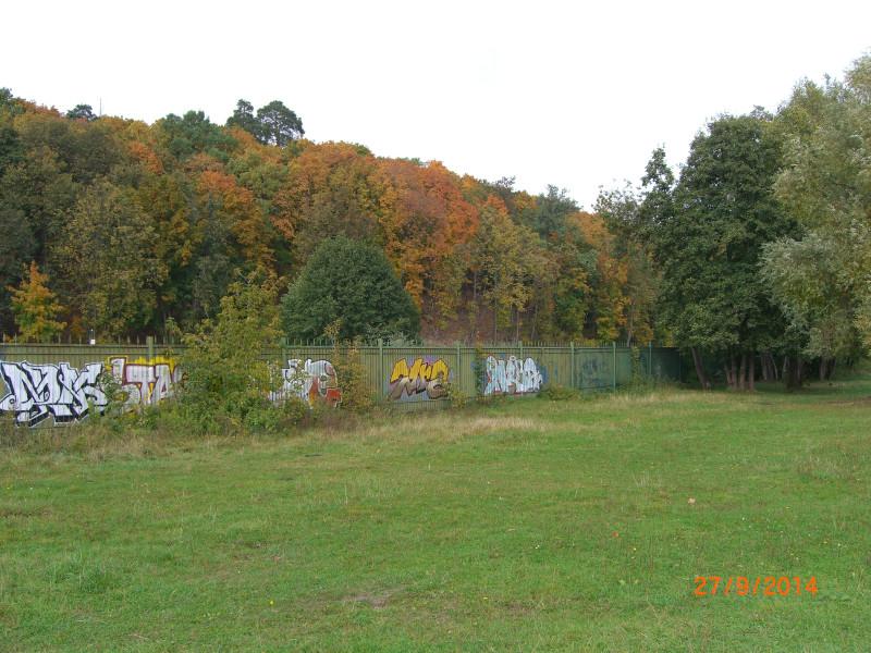 Забор парка усадьбы Карзинкино