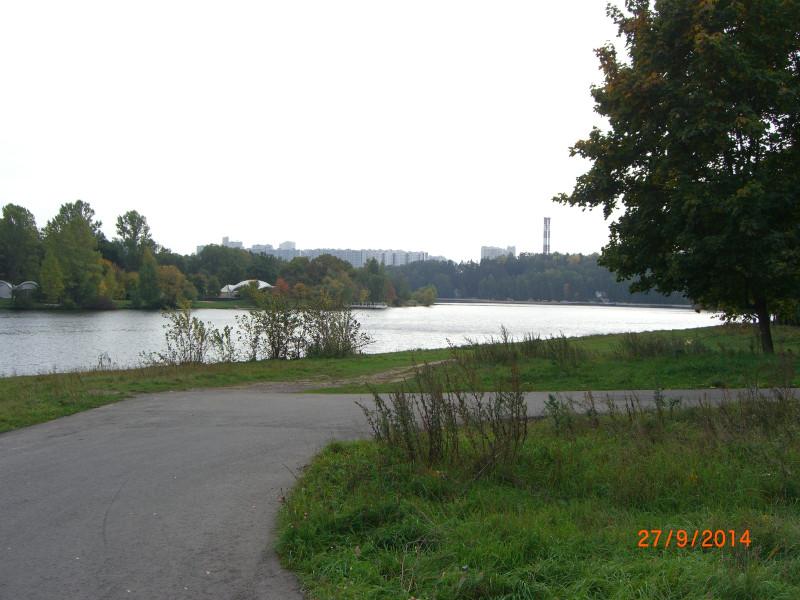 Вид на Крылатское из Троице-Лыково