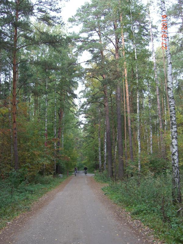 Прогулка из Троице-Лыково в Крылатское подходит к концу