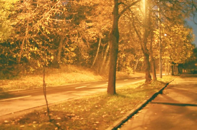 На пути к Мосфильмовской улице