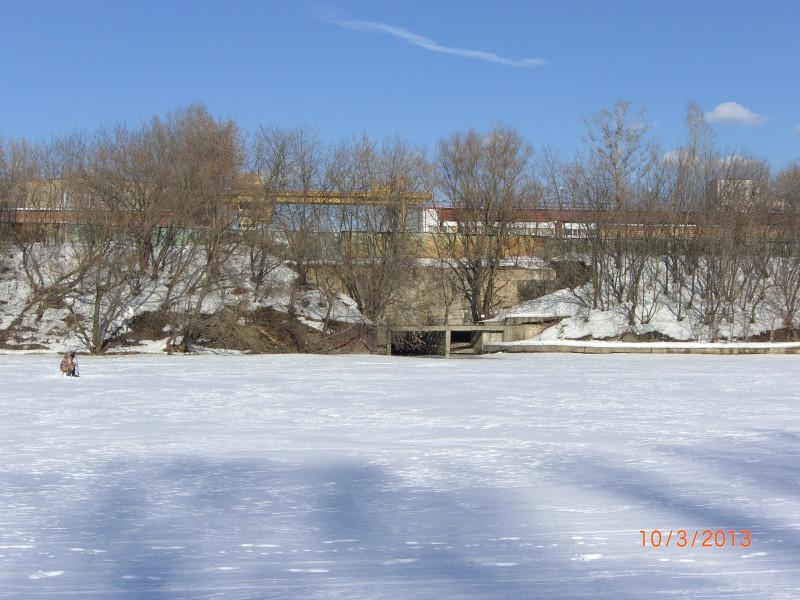 Устье реки Таракановки