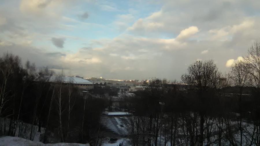 Новый стадион на склоне Ленинских гор
